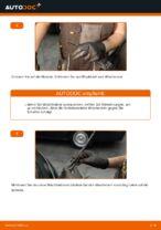 Wie Sie die hinteren Wischerblätter am Ford Fiesta V JH JD ersetzen