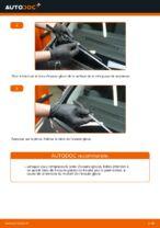 Comment remplacer les essuie-glaces avant sur une Ford Fiesta V JH JD