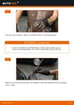 Cómo cambiar las escobillas traseras de limpiaparabrisas en Ford Fiesta V JH JD