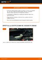 Come sostituire i dischi dei freni anteriori sulla Ford Fiesta V JH JD