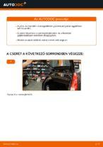 Lépésről-lépésre PDF-útmutató - FORD FIESTA V (JH_, JD_) Csapágyazás, kerékcsapágy ház csere