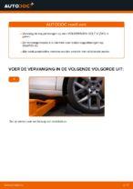 Leer hoe u de VW Stabilisatorstang achter links kunt oplossen