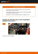 Wie der Austausch von Gasfedern des Kofferraumdeckels bei Ford Fiesta V JH JD-Autos funktioniert