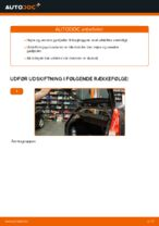 Hvornår skal Gasfjeder bagklap skiftes FORD FIESTA V (JH_, JD_): vejledning pdf