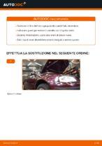 Come sostituire l'olio motore e il filtro dell'olio su AUDI A3 8L1