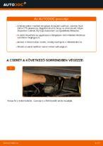 A Csapágyazás, kerékcsapágy ház cseréjének barkácsolási útmutatója a OPEL ZAFIRA A (F75_)-on