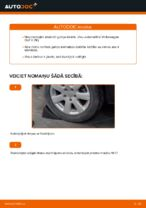 Kā nomainīt aizmugurējā riteņa rumbas gultni automašīnai Volkswagen Golf V (1K)