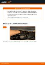 Cum se înlocuiesc plăcuțele din spate ale frânei cu disc Opel Zafira F75