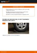 Stoßdämpfer wechseln OPEL ZAFIRA: Werkstatthandbuch