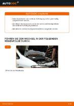 Wie Sie die vorderen Fahrwerksfedern am Opel Zafira F75 ersetzen