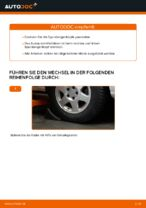 OPEL ZAFIRA A (F75_) Bremsbeläge wechseln vorderachse und hinterachse: Anleitung pdf