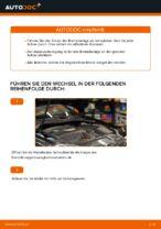 Wie Sie die hinteren Bremsbeläge am VOLKSWAGEN GOLF V (1K) ersetzen