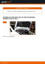 Wie der Austausch des Motor-Keilrippenriemens bei Opel Zafira F75-Autos funktioniert