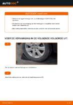 Hoe de achterste naaflager van een Volkswagen Golf V (1K) vervangen