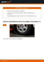 Hoe u de spoorstangeinden van een Opel Zafira F75 kunt vervangen