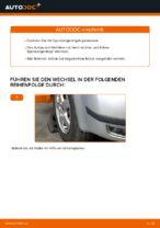 Wie der Austausch von Spurstangenköpfen bei Skoda Fabia 6Y5-Autos funktioniert