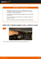 Changer Disque de frein arrière et avant OPEL à domicile - manuel pdf en ligne