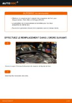 Comment remplacer les plaquettes de frein à disque arrière sur une VOLKSWAGEN GOLF V (1K)