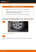 Comment remplacer le palier de moyeu arrière sur une Volkswagen Golf V (1K)