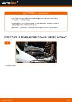 Comment remplacer les ressorts de suspension avant sur une Opel Zafira F75
