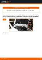 Comment remplacer la courroie en V crantée sur une Opel Zafira F75
