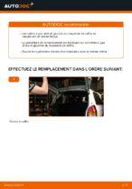 Comment remplacer le vérin à gaz du couvercle de coffre sur une Opel Zafira F75