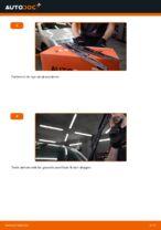 Hvordan man udskifter viskerblade i for på Skoda Fabia 6Y5
