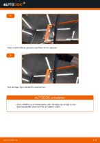Hvordan man udskifter viskerblade i bag på Skoda Fabia 6Y5