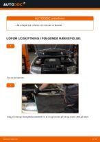 Hvordan udskiftes motorens poly V-rem på Skoda Fabia 6Y5