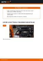 DIY-manual til udskiftning af Bremseklods i SKODA FABIA Combi (6Y5)