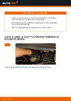 Cómo cambiar las pastillas de freno de discos delantero Opel Zafira F75