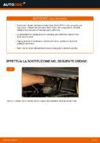 Come sostituire i dischi dei freni anteriori sulla Opel Zafira F75