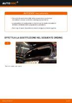 Cambio Molla Ammortizzatore posteriore e anteriore OPEL CORSA C (F08, F68): guida pdf