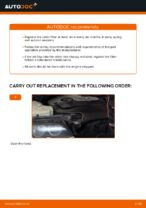 How to replace a cabin air filter on BMW E46 Touring