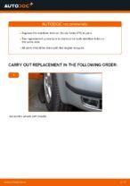 Replacing Drop links SKODA FABIA: free pdf