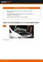 OPEL ZAFIRA service manuals