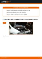 How to replace and adjust Oil Filter OPEL ZAFIRA: pdf tutorial