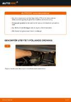 Montering Bromsskivor OPEL ZAFIRA A (F75_) - steg-för-steg-guide