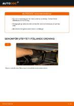 Hur byter man och justera Bromsklossar OPEL ZAFIRA: pdf instruktioner