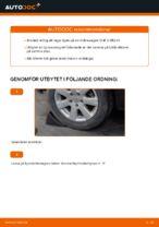 Så byter du bakre hjullager på Volkswagen Golf V (1K)