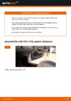 Kupefilter SKODA FAVORIT | PDF instruktioner för utbyte