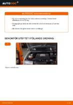 PDF Manual för reparation av reservdelar bil: SKODA SUPERB Kombi (3T5)