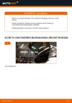 Automekaanikon suositukset CITROËN CITROËN C1 (PM_, PN_) 1.4 HDi -auton Alatukivarsi-osien vaihdosta
