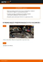 Jak wymienić klocki hamulcowe tylnego hamulca tarczowego w VOLKSWAGEN GOLF V (1K)