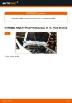 W jaki sposób wymienić pasek klinowy silnika w Opel Zafira F75