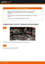 Ako vymeniť zadné brzdové platničky kotúčovej brzdy na VOLKSWAGEN GOLF V (1K)