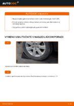 Ako vymeniť ložisko zadného náboja na Volkswagen Golf V (1K)