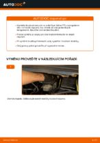 Jak vyměnit přední brzdové kotouče na Opel Zafira F75