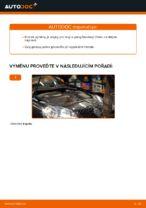 Jak vyměnit zadní brzdový třmen na Volkswagen Golf V (1K)