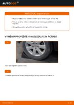 Jak vyměnit ložisko zadního náboje na Volkswagen Golf V (1K)